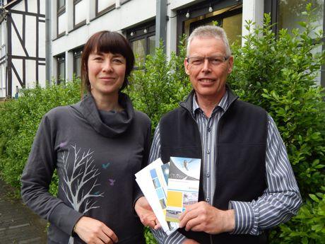 Gewinner Paul Gerhard Müller und Kerstin Broh