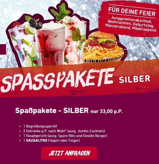 Sausalitos_Spasspaket Silber