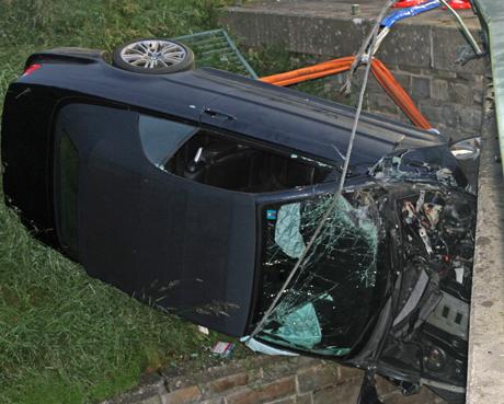 Unfallwagen-BMW