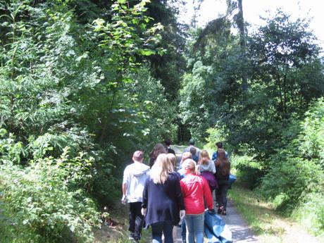 2016-07-01_Erndtebrück_Müllsammelaktion  Realschule Erndtebrück_Foto_Landesbetrieb Wald und Holz NRW_01