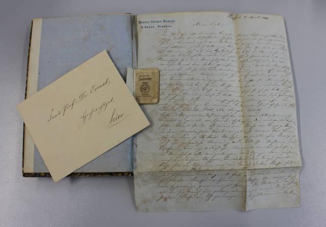 Die Briefe von Louis Ernst gegeben einen Einblick in den Deutschen Krieg von 1866.