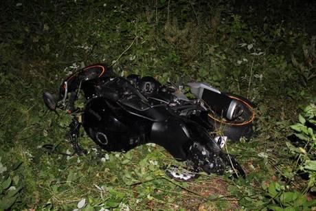 An seinem Motorrad entstanden Schäden in Höhe von ca. 1.500 Euro. Foto: Polizei
