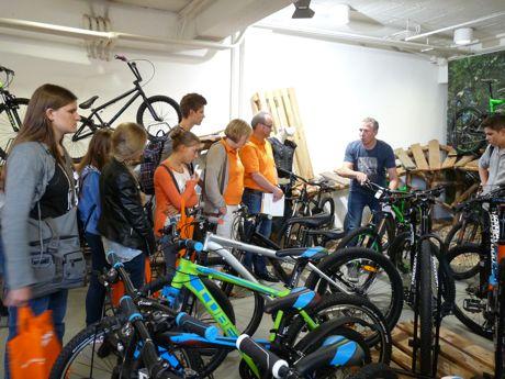 """Heiko Oerter präsentierte im letzten Jahr bei """"Wie werde ich Chef"""" lebhaft seinen seit über 20 Jahren bestehenden Fahrradladen """"Bike Corner""""."""