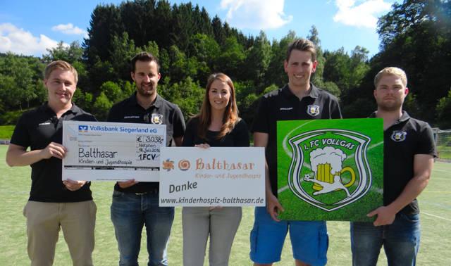 VollGas Benefiz Cup 2016: Über 3.000 Euro an Kinderhospiz gespendet. (Foto: privat)