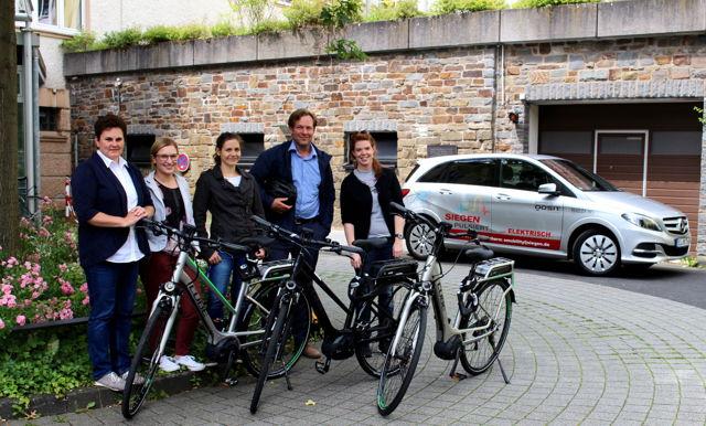 Das Betreuer-Team (von links): Marietta Krenzer-Gräb, Senem Aydin, Paulina Kühn, Marco Durissini und Stefanie Bingener.