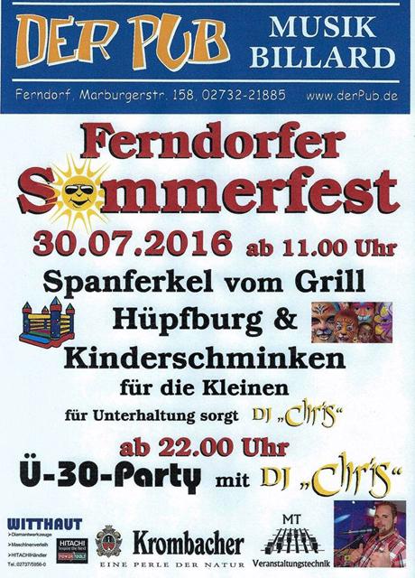 Ferndorfer-Sommerfest