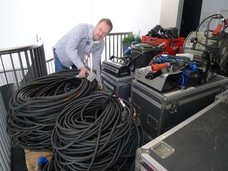 Robert Schäfer ist Technischer Leiter im Apollo-Theater. (c) Apollo-Theater Siegen