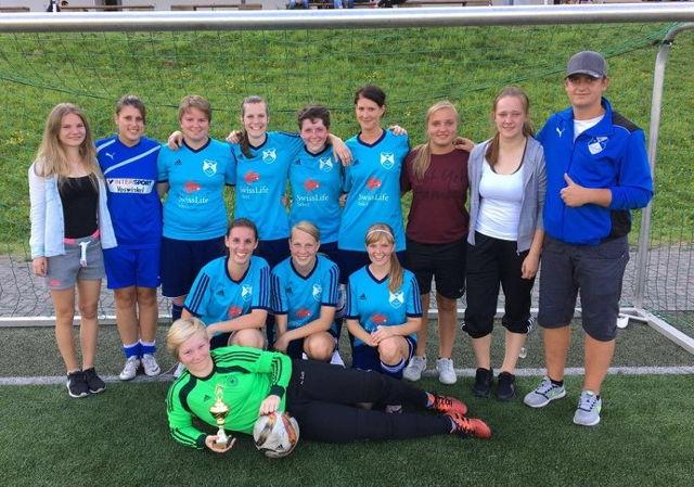 Die Damen der SG Hickengrund gingen als Turniersieger vom Platz. (Foto: Verein)