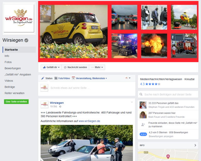 2016-08-20_wirSiegen_33333 Facebook Fans_Screenshot_01