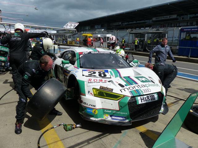 Im Rahmen des Zieleinlaufs beim Burbacher Museumsfest wird auch ein Audi R8 LMS des Teams Montaplast by Land-Motorsport hautnah zu sehen sein.