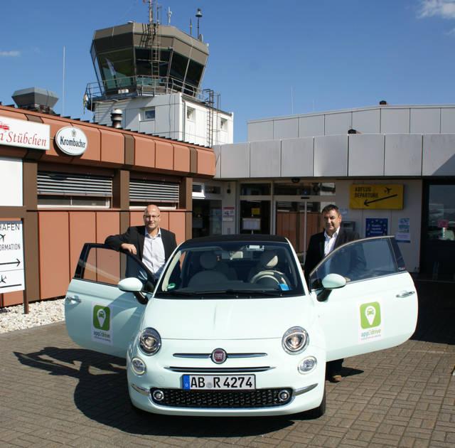 Carsharing gibt es jetzt auch auf dem Siegerland Flughafen.