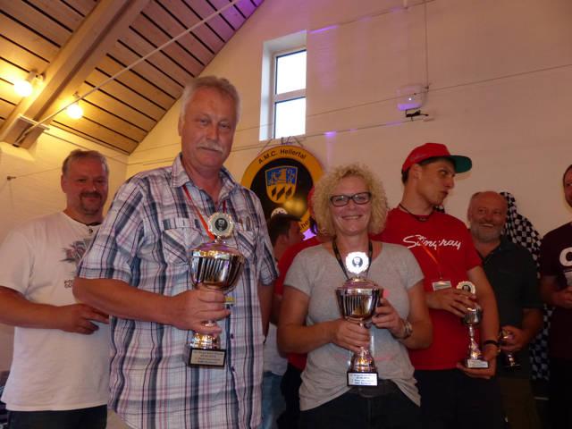 In der touristischen Wertung gewannen Anke Loos/Wolfram Klappert (Siegen/Freudenberg) im Alfa Romeo mit nur einem einzigen Strafpunkt.