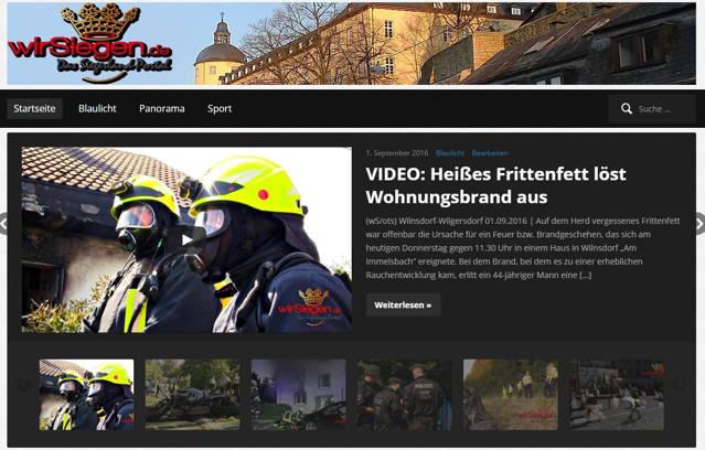 2016-09-01_Wilnsdorf-Wilgersdorf_Am Immelsbach_Feuer4_Küchenbrand_Screenshot_Mediathek